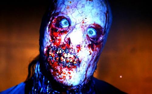 Un autre LeatherFace, plus récent et plus sanglant (avec de vraies dents, oui monsieur!) c'est celui du BloodyFace dans American Horror Story, dans la saison 2