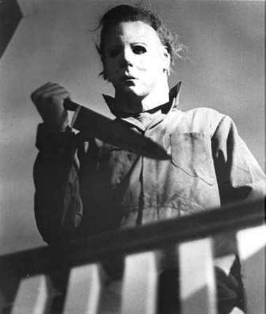 Epuré lui aussi, le masque du héros d'Halloween