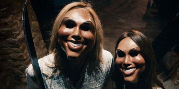 Le plastique traumatisant des masques des rebelles d'American Nightmare