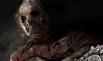 Masque fabriqué à la main, à partir de peau; Massacre à la Tronçonneuse nous offre la LeatherFace.