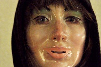 Le visage luisant du film V/H/S/