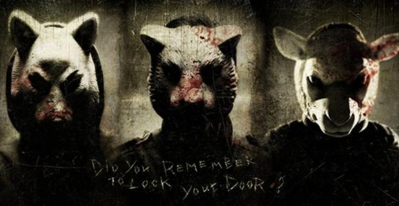 Les trois masques sanglants du très récents You're Next.